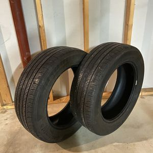 Continental Tires, set of two P225/60/R18 100H for Sale in Barrington, IL