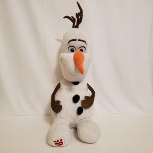 "Disney Frozen Olaf Plush 20"" Build A Bear Snowman Stuffed Animal for Sale in La Grange Park, IL"
