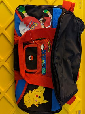 Vintage pokemon duffle bag for Sale in Strongsville, OH
