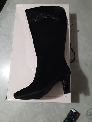 Bandolino Suede Snakeskin Boots for Sale in Greendale, WI