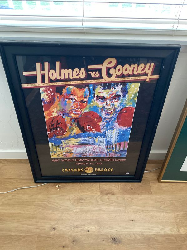 "Leroy Neiman ""Holmes vs Cooney"""