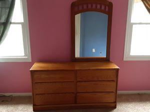 brown wooden dresser for Sale in Manassas Park, VA