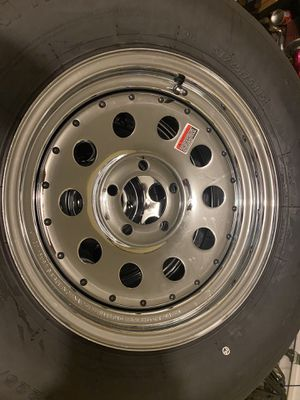 Trailer rims with tires for Sale in Miami, FL