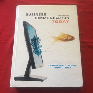 FREE Book Business Communication Today for Sale in San Diego, CA