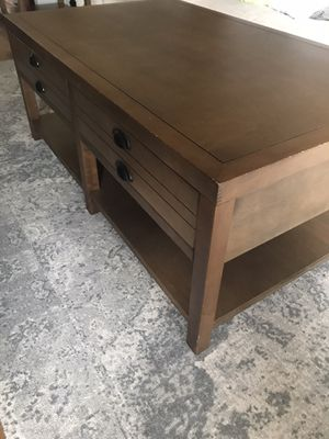 Coffee Table and 2 Side Tables Set for Sale in Seattle, WA