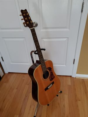 Washburn Acoustic Guitar, stand, books and much much more for Sale in Wake Forest, NC