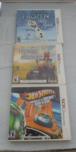 Nintendo 3ds game bundle for Sale in West Jordan, UT