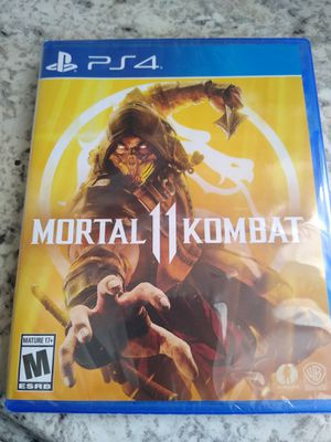 Mortal Kombat 11 PS4 for Sale in Spring, TX