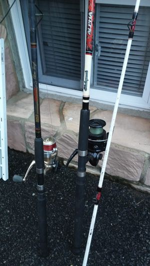 2 fishing rods for Sale in Clifton, NJ