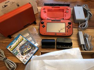 Black Nintendo Wii U Console with extras! for Sale in Vancouver, WA