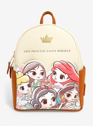 DISNEY LOUNGEFLY PRINCESS CHIBI MINI BACKPACK for Sale in Montebello, CA