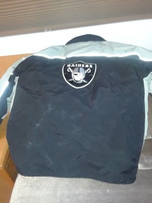 2 for. 1 Official NFL Raider jacket for Sale in Riverside, CA