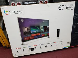 "65"" 65"" ANDROID TV AVAILABLE BY LE ECO WITH HDR. BRAND NEW. HARMAN KARDON SPEAKER BUILT IN. 1 YEAR WARRANTY for Sale in Los Angeles, CA"