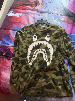 Bape long sleeve for Sale in Columbus, OH