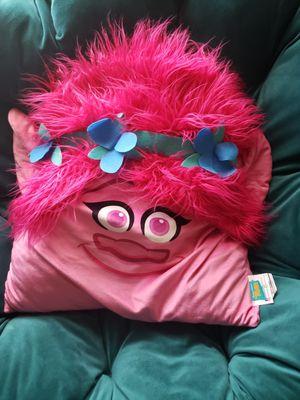 Poppy Trolls Big Soft Pillow for Sale in Austin, TX