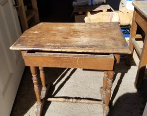 Authentic Vintage School Desk with Drawer for Sale in Alhambra, CA