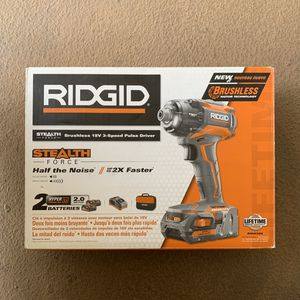 Ridgid power tools 18v impact driver for Sale in La Mesa, CA