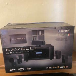 Cavelli Cv-19 5.1 Home Theater System for Sale in Brentwood, MD