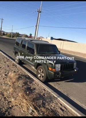 2008 Jeep commander for parts PARTING OUT ONLY for Sale in Henderson, NV