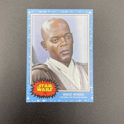 Limited Edition 2021 Topps Star Wars Living Set® Card #168 - Mace Windu for Sale in Peoria,  IL