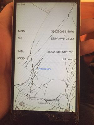 iPhone 6 broken home button for Sale in Whittier, CA