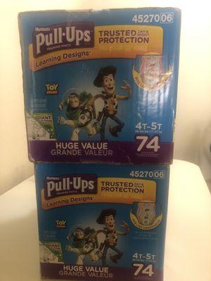 Pullup huggies 4t-5t for Sale in Chula Vista, CA