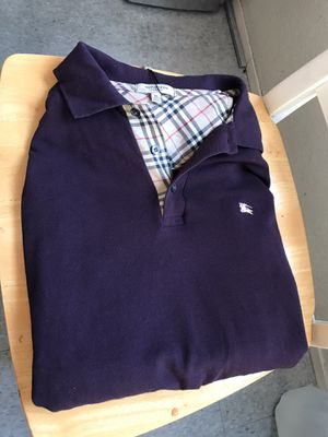 Burberry long sleeve polo for Sale in San Diego, CA