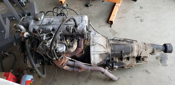 1972 Toyota 18r engine and transmission for Sale in Beaumont, CA - OfferUp