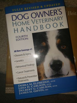 Dog Owners Home Veterinary Handbook for Sale in Saint Charles, MD