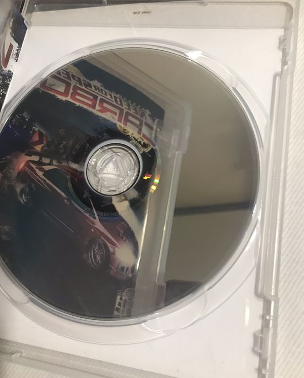 Need For Speed Carbon playstation 3 game
