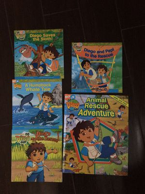 Go Diego Go book bundle for Sale in Spring, TX