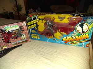 $25.00 FOR BOTH OF THESE SPAWN COLLECTION ACTION FIGURES,, BRAND NEW SEALED NEVER OPENED. for Sale in Phoenix, AZ