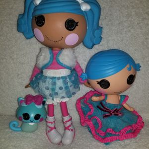 Lalaloopsy dolls and Pet, $30 for Sale in Sacramento, CA