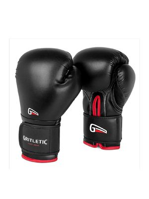 Gritletic PowerGrip Boxing Bag Training Gloves for Men and Women-Synthetic Leather Pro Trainer Gel Fight Gloves for Sale in Missouri City, TX