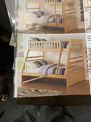 Twin over full bunk bed ON SALE ( mattresses are sold separately) ON SALE for Sale in Federal Way, WA