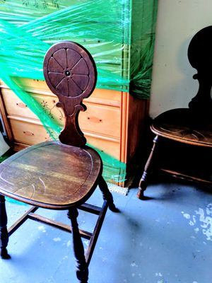 $5up Mirrors Wine Room Cellar Restaurant?A RARE Pegged Dropleaf Tavern Pub Table w/Drawer & 4 Chairs + Nautical Island Bentwood Bamboo Rattan Wicker for Sale in Puyallup, WA