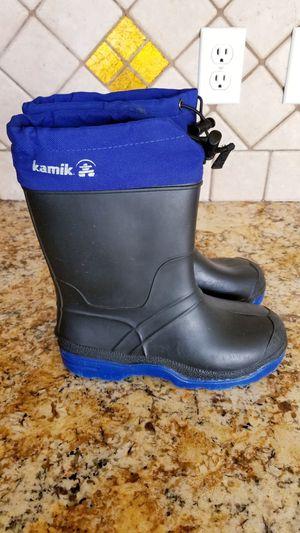 Kamik size 3 rain boots for Sale in Renton, WA