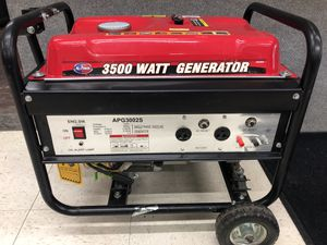 New All-Power 3500 Watt Generator for Sale in East Wenatchee, WA