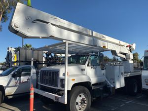 1999 GMC Diesel With Commercial Boom Lift!! for Sale in Salida, CA