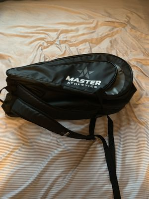 Large Master Athletics Black Tennis Backpack/Duffle Style Gear Bag for Sale in Brookfield, CT