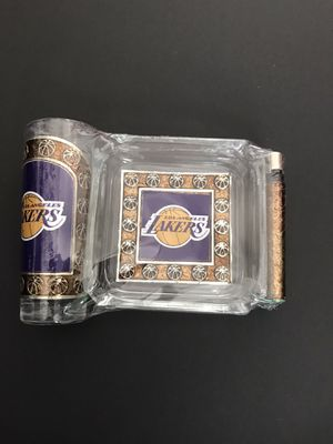 Los Angeles Lakers ashtray set for Sale in Los Angeles, CA
