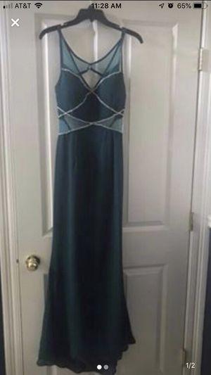 Blue/green formal dress size Medium for Sale in Baton Rouge, LA