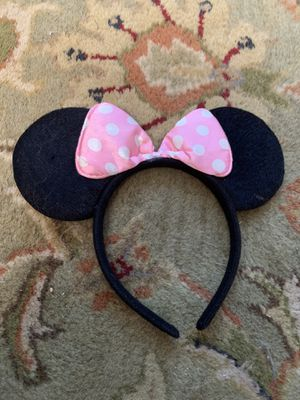 Classic child's Minnie Mouse Ears for Sale in Torrance, CA