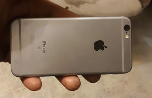 iPhone 6s grey is unlocked bot need a new screen 6 for Sale in Brookneal, VA