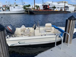 16 foot Scout Boat with Yamaha 60 hp two stroke outboard for Sale in North Bay Village, FL