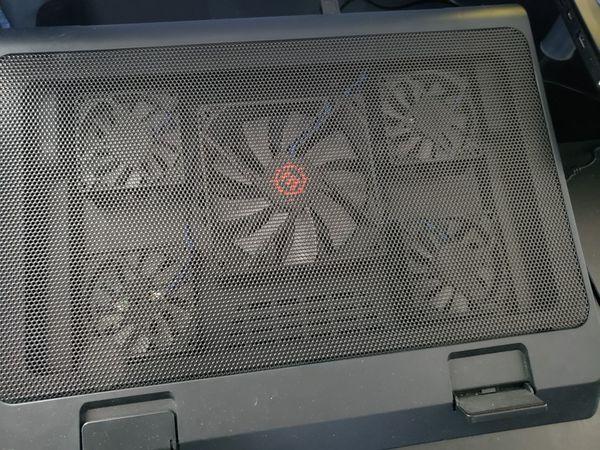 MSI High end gaming laptop + Cooling pad