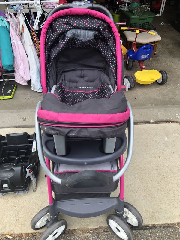 Baby Trend Hello Kitty Stroller and Car Seat