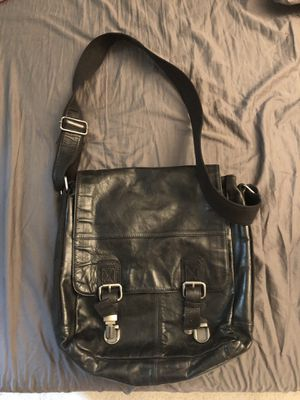 Fossil leather messenger bag for sale for Sale in Gaithersburg, MD