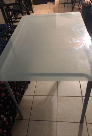 Glass desk for Sale in West Springfield, VA