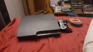Ps3 system with 1 controler and 2 games for Sale in Sudley Springs, VA